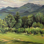 Mount Lafayette From Sugar Hill New Hampshire Art Print