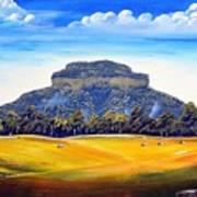 Mount Lindesay,australia Art Print