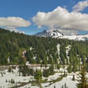 Mount Rainier National Park Tatoosh Range Art Print