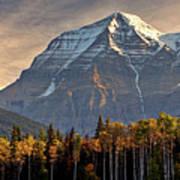 Mount Robson Art Print