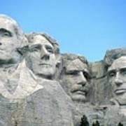 Mount Rushmore Art Print by American School