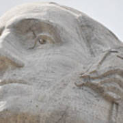 Mount Rushmore George Washington Art Print