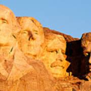 Mount Rushmore Art Print