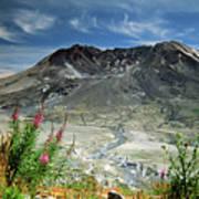 Mount Saint Helens Caldera Art Print