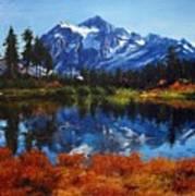 Mount Shuksan Art Print