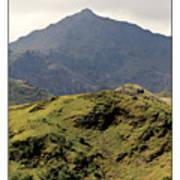 Mount Snowdon Art Print