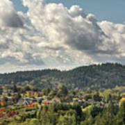 Mount Talbert In Happy Valley Oregon Art Print