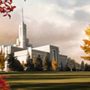 Mount Timpanogos Temple #2 Art Print