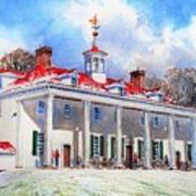 Mount Vernon After The Squall Art Print
