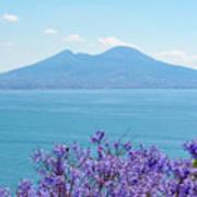 Mount Vesuvius 1 Art Print
