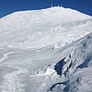 Mount Washington - White Mountain New Hampshire Usa Winter Art Print