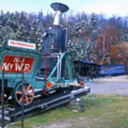 Mount Washington Cog Railway Art Print