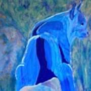 Mountain Bobcat Art Print