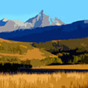 Mountain Country Art Print