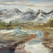Mountain Fresh Water Art Print