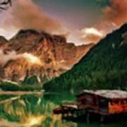 Mountain Getaway Art Print
