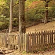 Mountain Graveyard Art Print