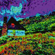 Mountain House D5b Art Print