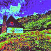 Mountain House Dd4 Art Print