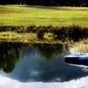 Mountain Kayak Art Print