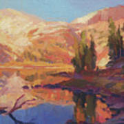 Mountain Lake Art Print