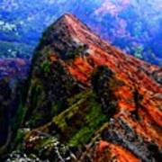 Mountain Landscape 27  Art Print