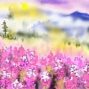 Mountain Landscspe Art Print