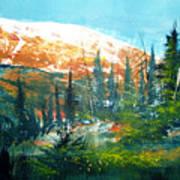 Mountain Light Art Print