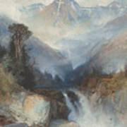 Mountain Of The Holy Cross Art Print