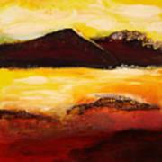 Mountain Pass 1 Art Print
