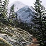 Mountain Pathway Art Print