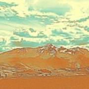 Mountain Range 2 Art Print
