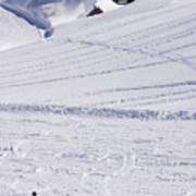 Mountain Skiing Art Print