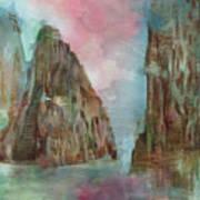 Mountain Temple Art Print
