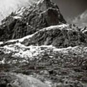 Mountain Track Art Print