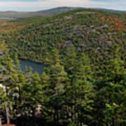 Mountain View, Acadia National Park Art Print