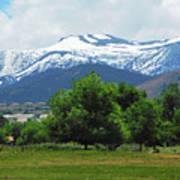 Mountain View - Reno Nevada Art Print