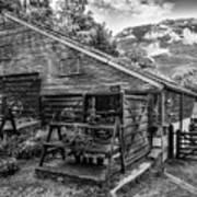 Mountain Workshop Art Print