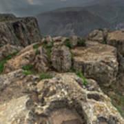 Mountainous Terrain Of Israel Art Print