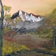 Mountains Afar Art Print