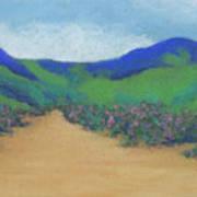 Mountains At Moholoholo Art Print