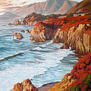 Mountains Bow Down Art Print
