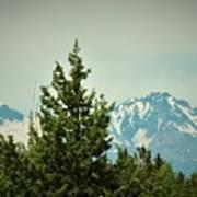 Mountains Of Oregon Art Print