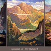 Mountains Of The Southwest Art Print