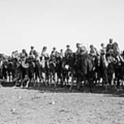 Mounted Guard, 1921 Art Print