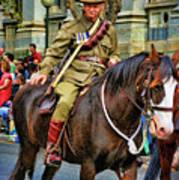 Mounted Infantry 2 Art Print