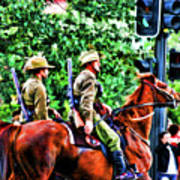 Mounted Infantry Art Print