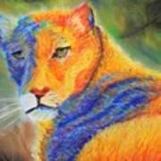 Mountian Lion 1 Art Print