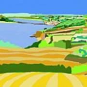 Mounts Bay Cornwall Art Print