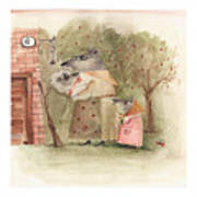 Mouse Family Art Print